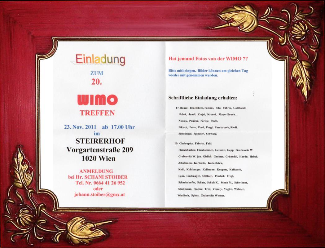 Wimo-Treffen Einladung 2012 - 20 Jahre Rahmen 39